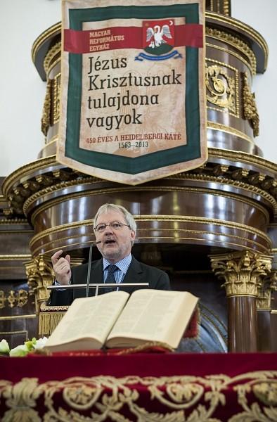 Ünnepi ülést tartott a Magyar Református Egyház közös zsinata Debrecenben