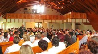 A templomszentelés hetedik évfordulója Baróton