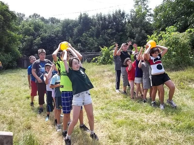Magyarkiskapusi református vallásorás gyerekek tábora