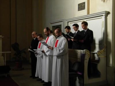 Ökumenikus vespera a Lutheránus Püspökség Reményik Sándor Galériájában.