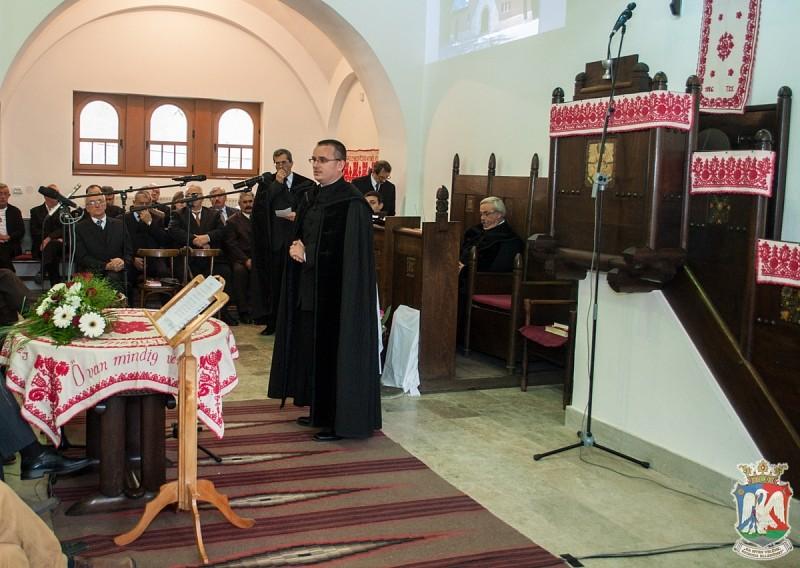 Bibza Gábor: a magunk helyén mindnyájan ugyanazt a Krisztust szolgáljuk