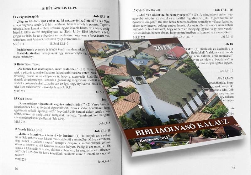 Megjelent a 2014-es Bibliaolvasó Kalauz