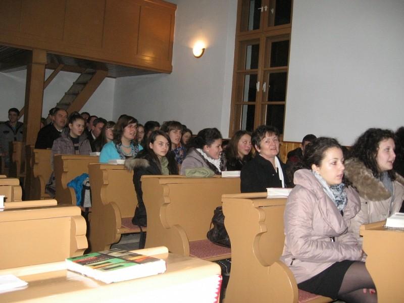 Újratervezés - Ifjúsági istentisztelet Nyárádtőn