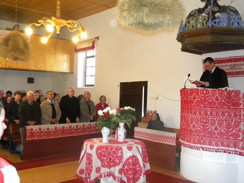 Egyházközségi vezetők találkozója Magyarlétán