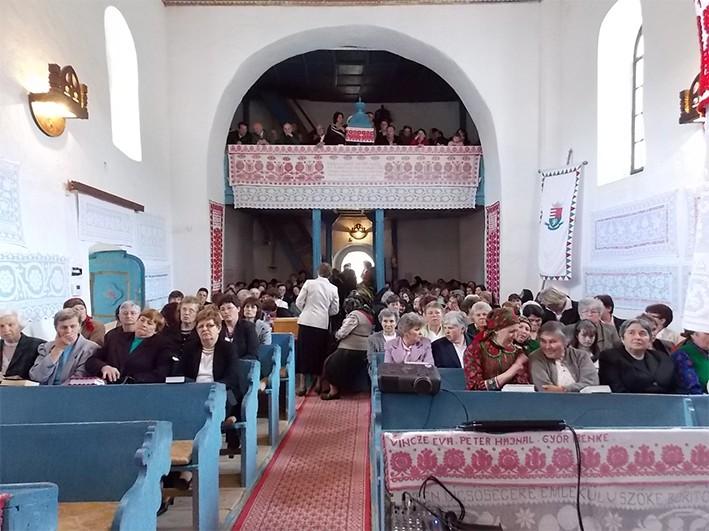 Vidám nőszövetségi találkozó Magyarvalkón