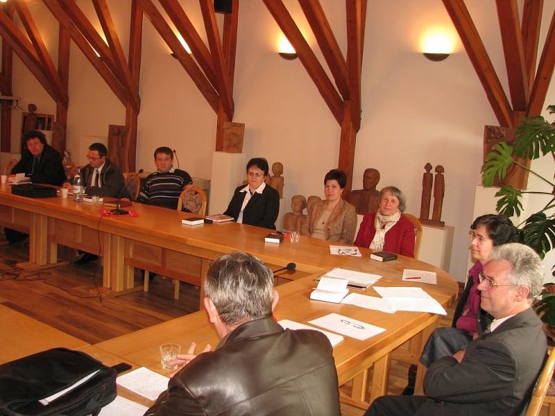 Egyházzenei előadók tanácskozása
