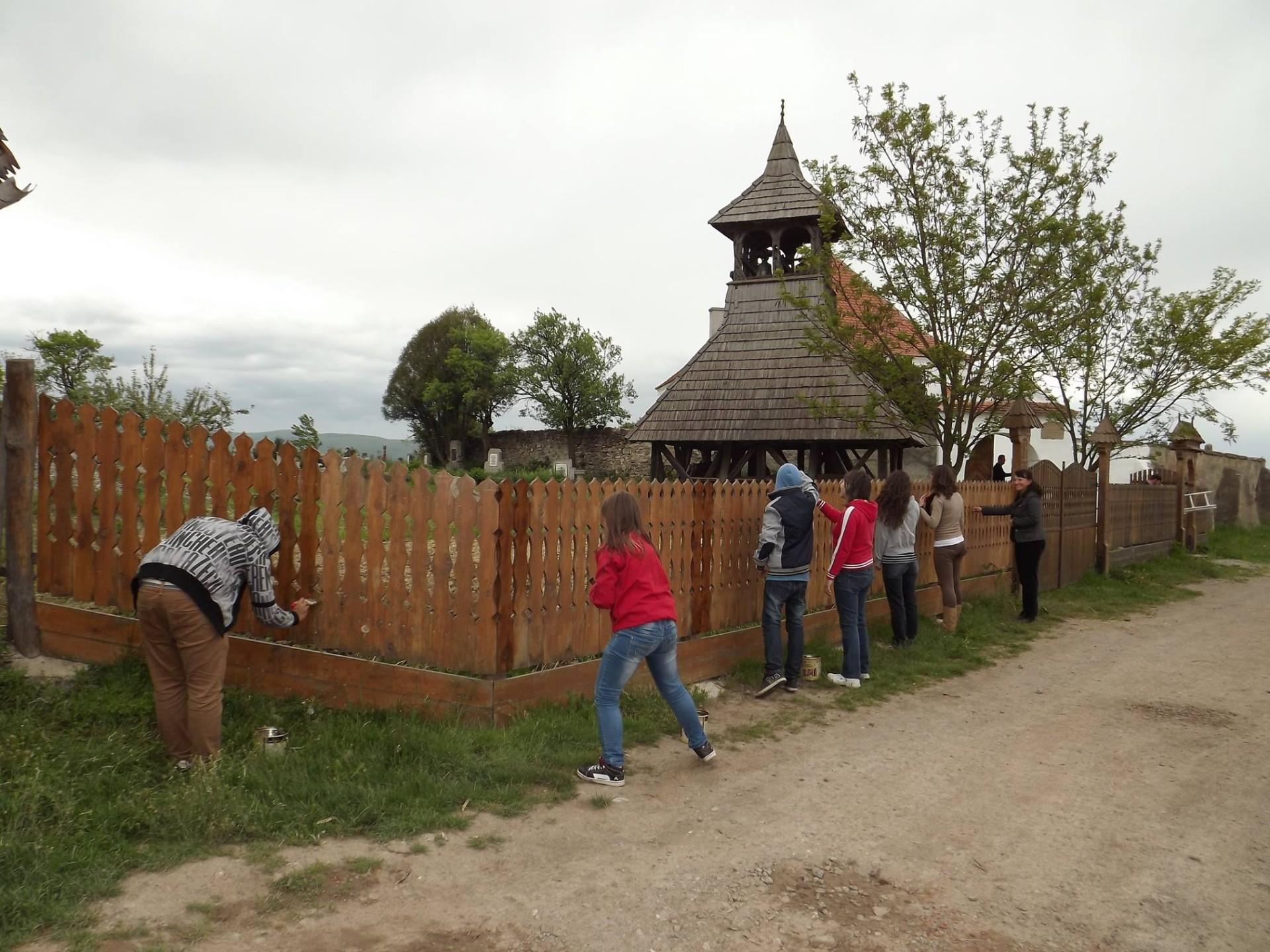 Önkéntesek Kálnokon