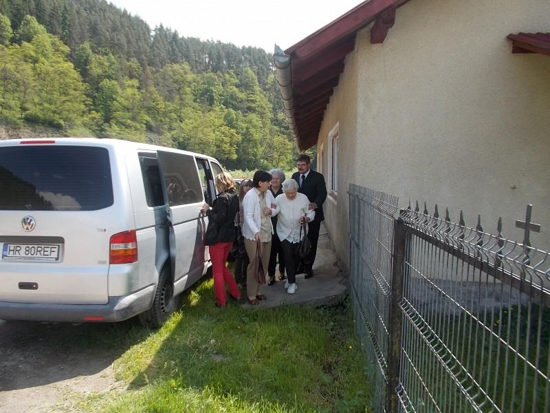 Szórvány-kisbuszt kapott a a Borszéki Missziói Református Egyházközség