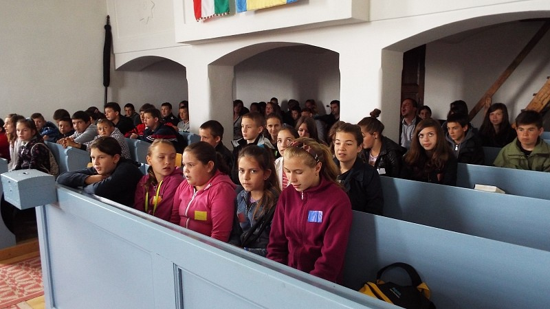 Fiatalok helye a világban - Konfirmándusok találkozója Sepsibesenyőn