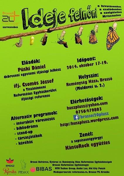 20+ Konferencia Brassóban - Ideje felnőni