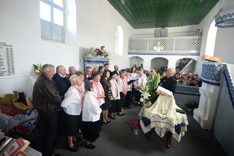 Megújult a szászdányáni református templom