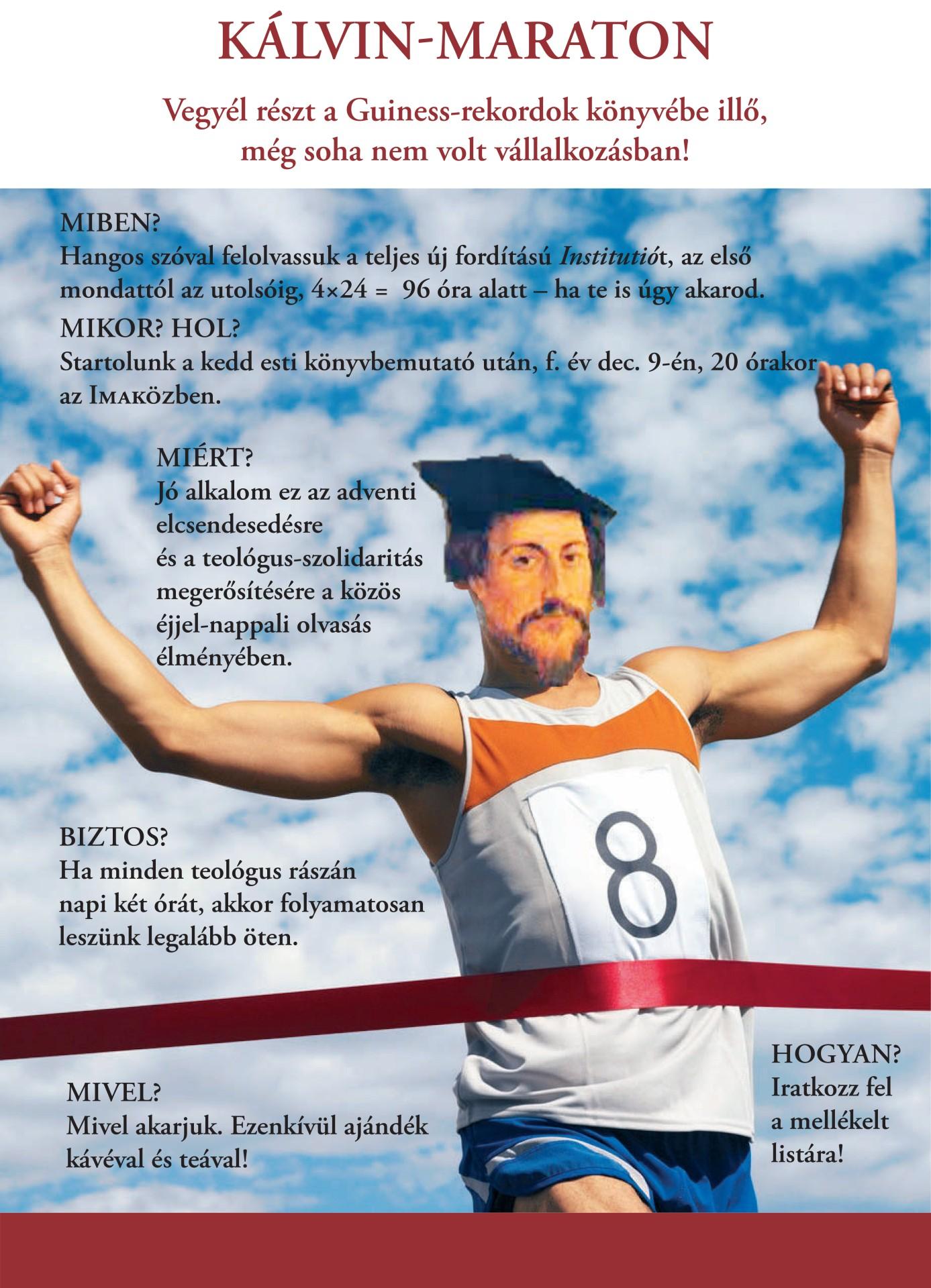 Kálvin-maraton Kolozsváron