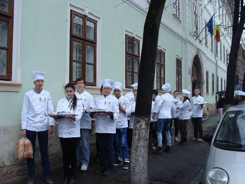 Fiatal szakácsok a Püspöki Hivatalban