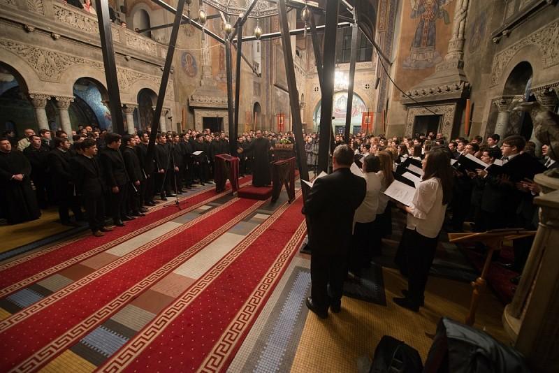 Ökumenikus karácsonyi koncert a kolozsvári ortodox katedrálisban