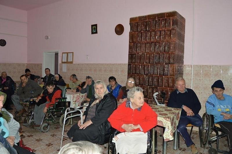 Látogatóban a mezőkapusi gondozóotthonban
