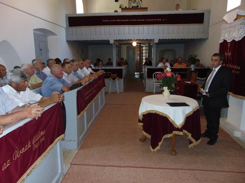 Konferencia a gyülekezetépítésről Magyarpéterfalván