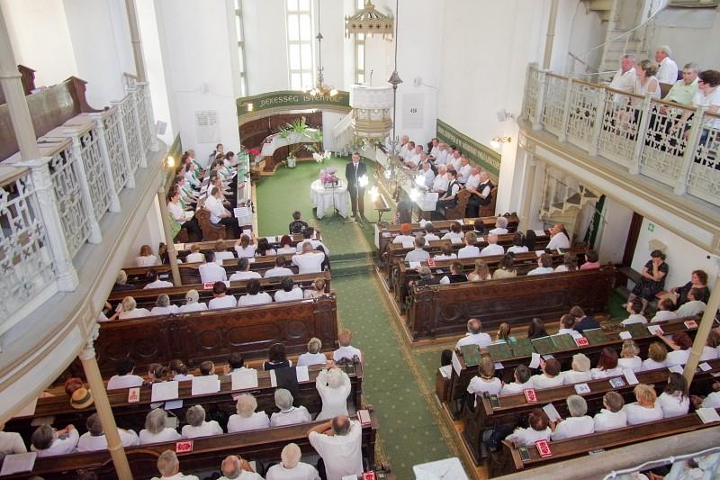 Orgonaavatás a hídelvei templomban