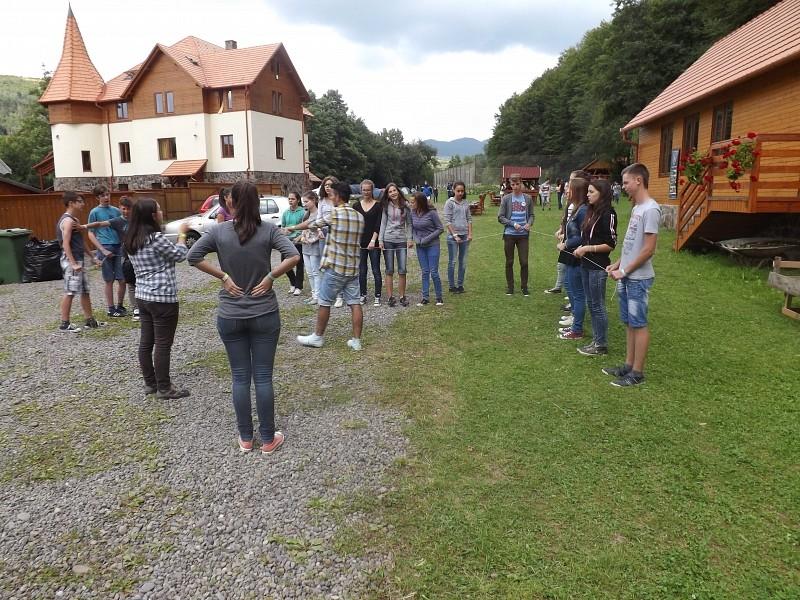 Ifjúsági tábor Parajdon