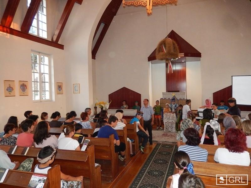 Zárult a református gyerektábor