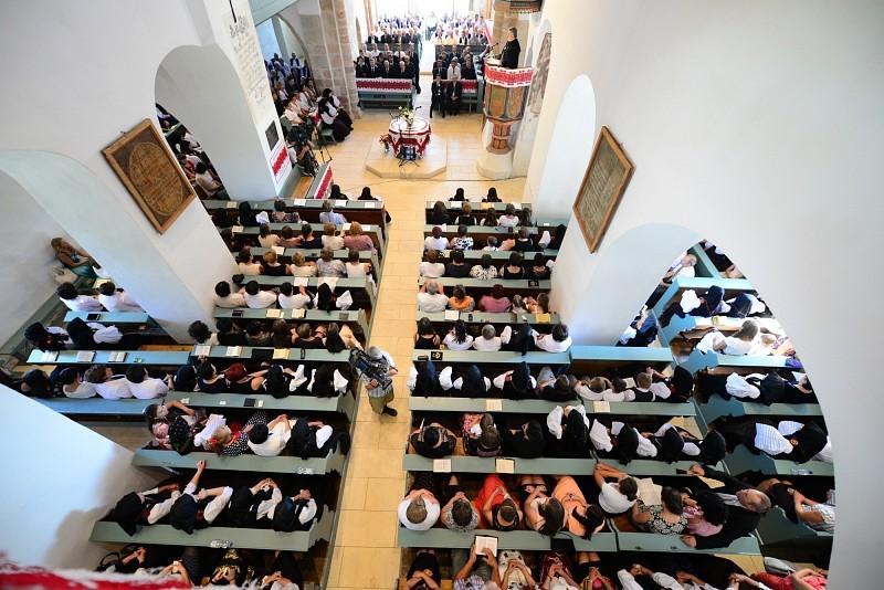A kutyfalvi templom javítására gyűjtenek az Erdélyi Református Egyházkerület Közgyűlésén