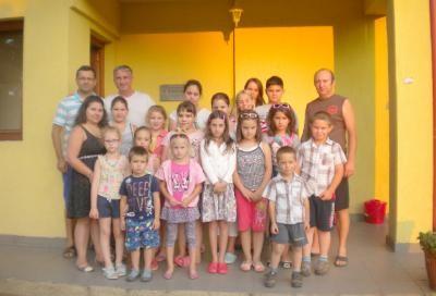 Madarasifeketei szórványban élő gyermekek anyanyelvi tábora