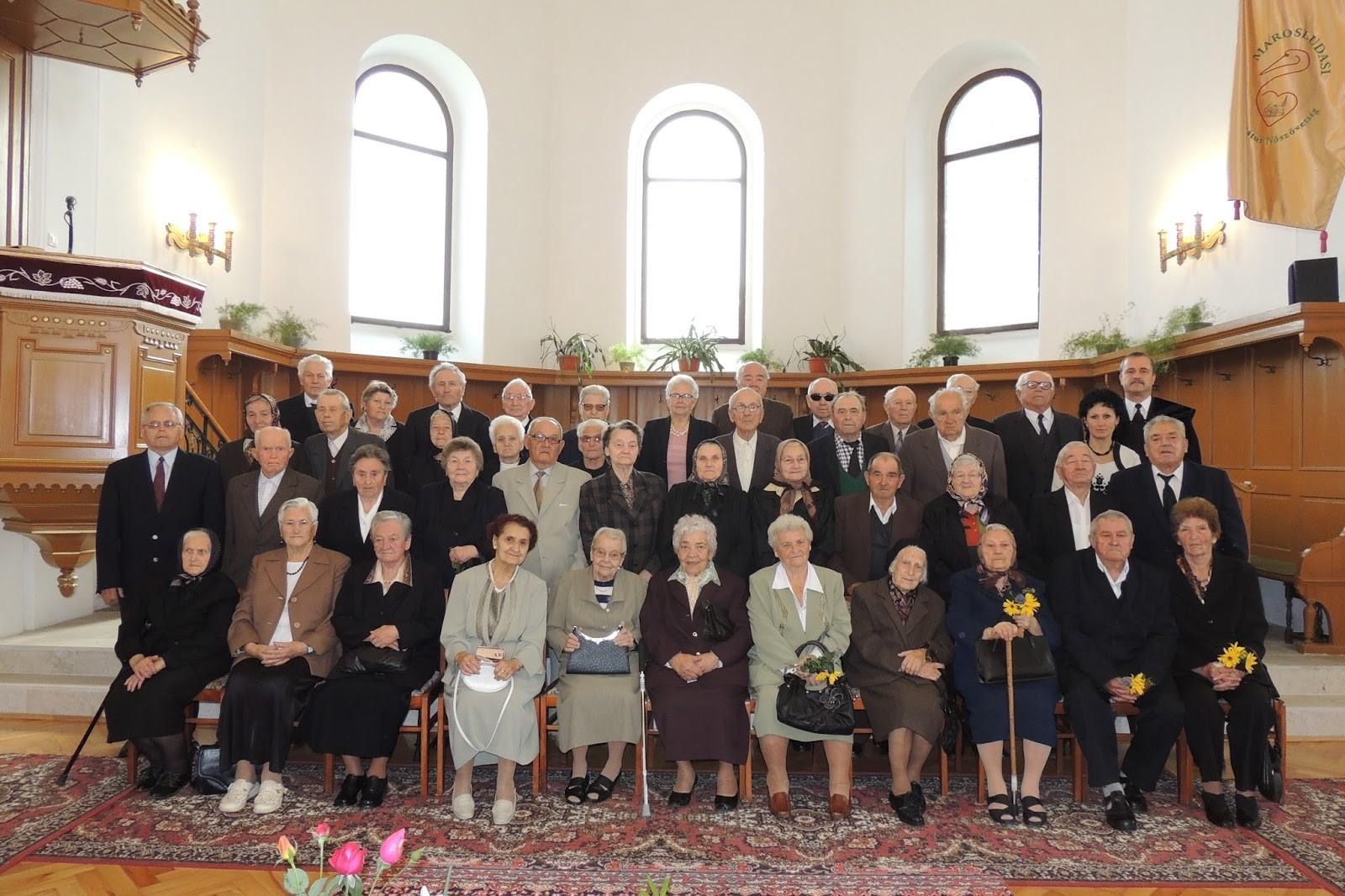 Idősek vasárnapja Marosludason - jubileumi alkalom
