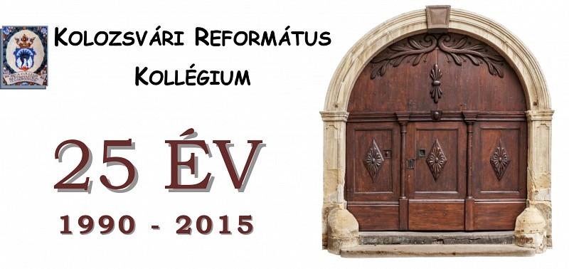 25 éves az újraindított Kolozsvári Református Kollégium