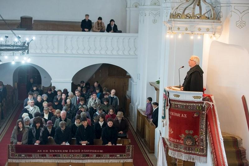 200 éves a kovásznai református templom