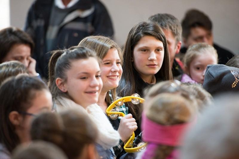 A magyarbikali gyermekzenekarral koncertezett a Ghymes
