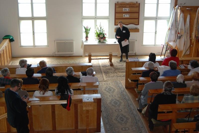Nőszövetségi konferencia Kőhalomban