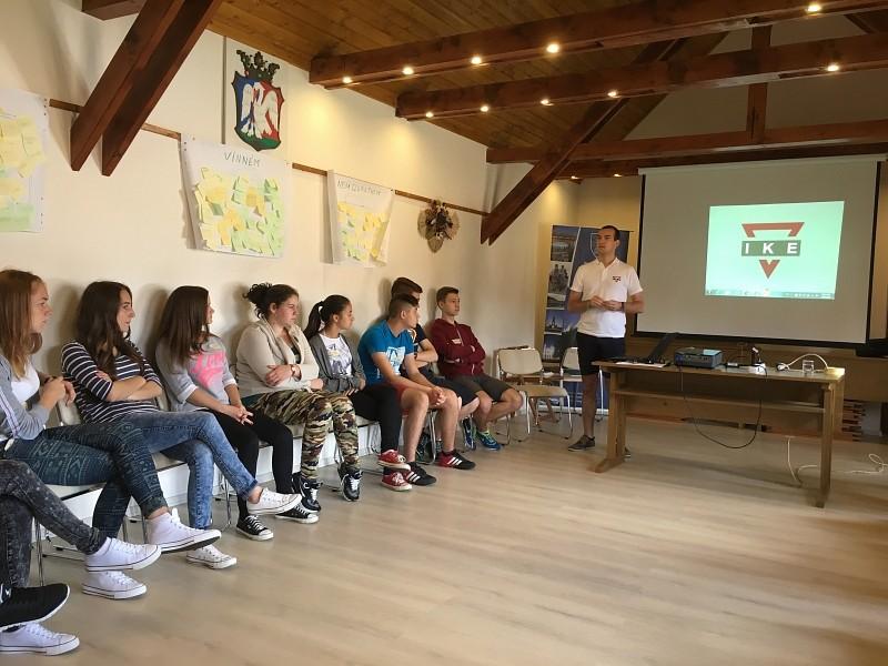 Ifjúsági vezetőképző tábor Parajdon