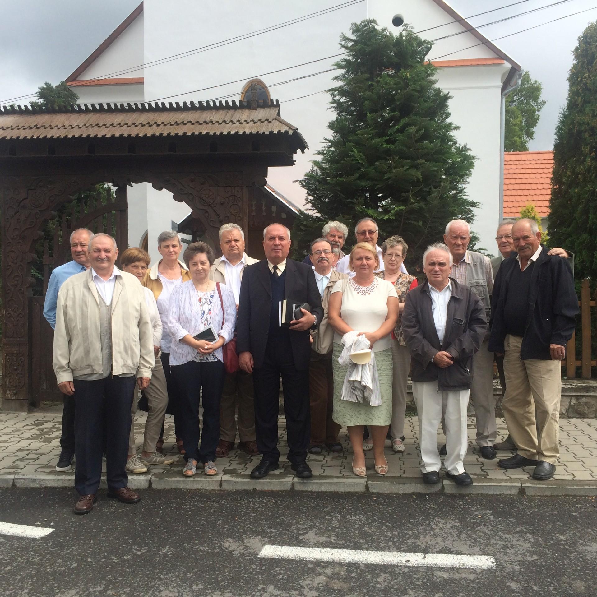 Nyugdíjas lelkipásztor családok 12. évfolyamtalálkozója Parajdon