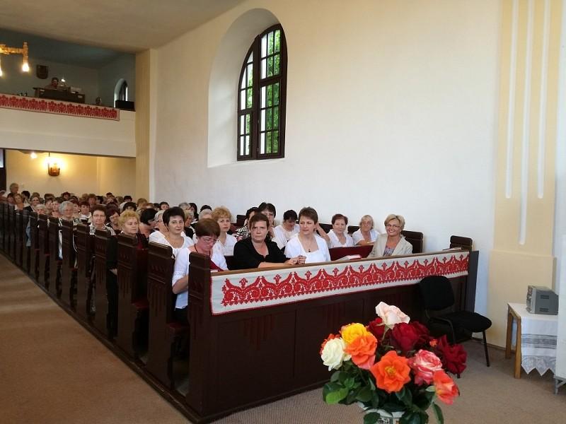 Nőszövetségi találkozót tartottak Magyarrégenben