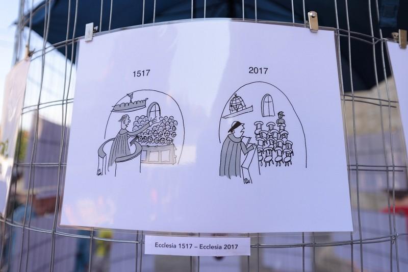 Megnyílt a Refo500 sátor a Kolozsvári Magyar Napokon