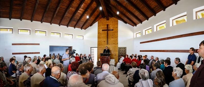 Emlékkápolnát avattak a reformáció 500. évfordulóján Maroshévízen