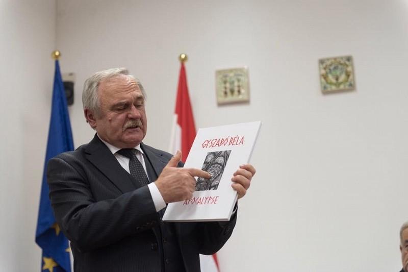 Az apokalipszis képekben – Gy. Szabó Béla műveit állítják ki Kolozsváron