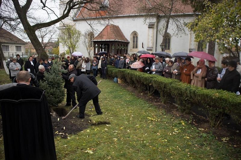 Utat engedni az élő víznek – a reformációra emlékeztek Gernyeszegen