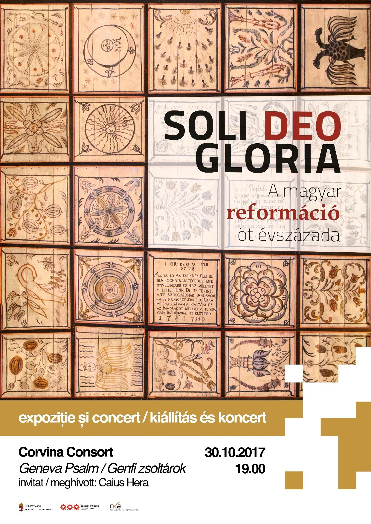 Reformáció 500 – Soli Deo Gloria kiállítás, koncert Bukarestben