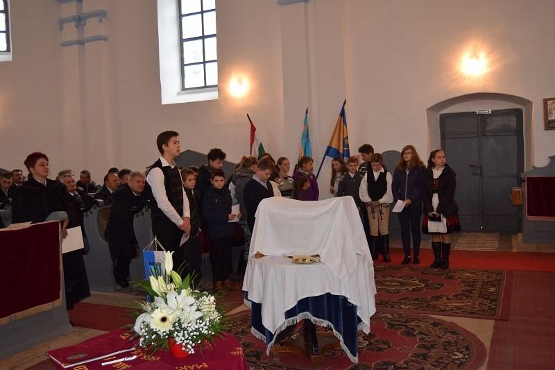 Megújult a szörcsei református templom