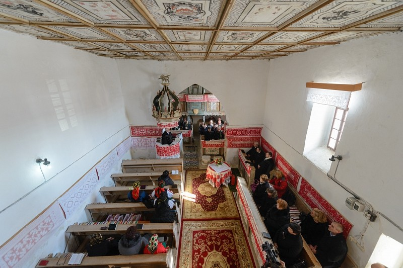 Megújult a farnasi református templom haranglába