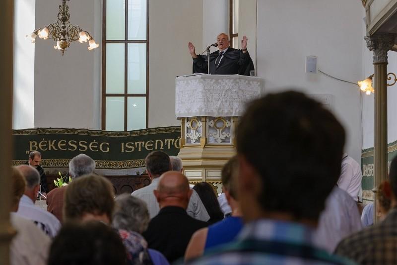 120 éves a kolozsvári hidelvei református templom