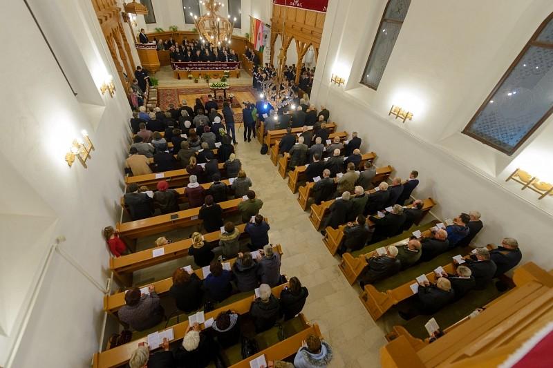 Beiktatták a Marosi Református Egyházmegye tisztségviselőit