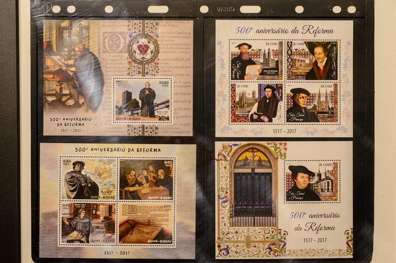 Reformáció bélyegeken