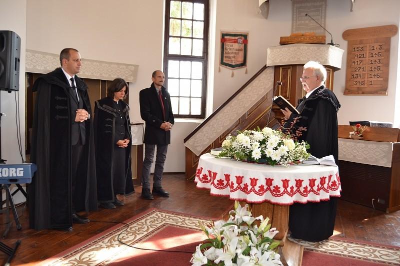 Beiktatták a Brassói Református Egyházmegye tisztségviselőit