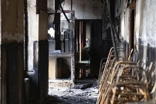 Leégett a budapesti teológia kollégiuma