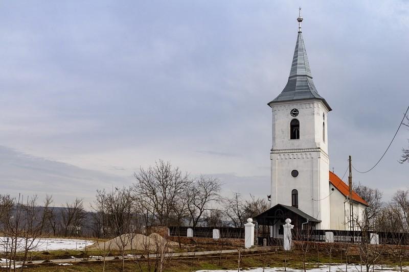 Megújult a marosbogáti templom belseje