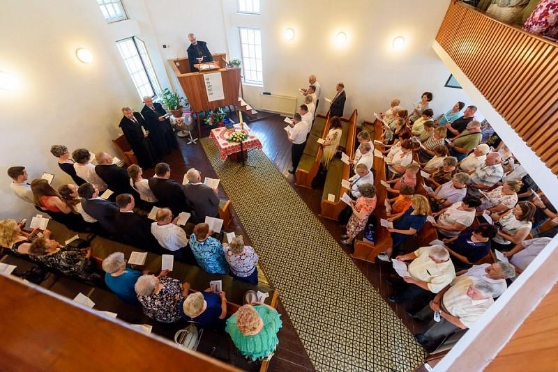 25 éves a kisbácsi református templom