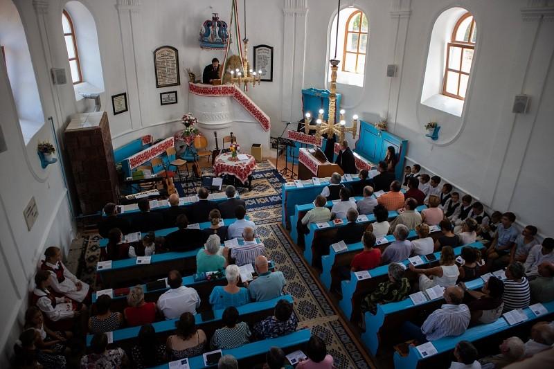 Ahol Isten otthon van – megújult a szentgericei templom