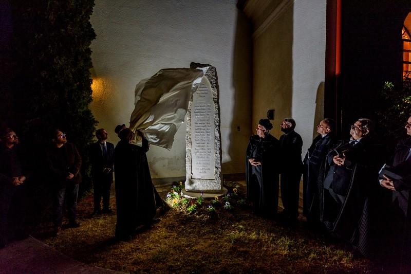 A második világháború elesetteinek emlékére állítottak emlékművet Györgyfalván