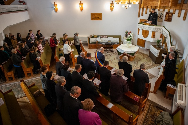 Huszonöt éves a detrehemtelepi templom